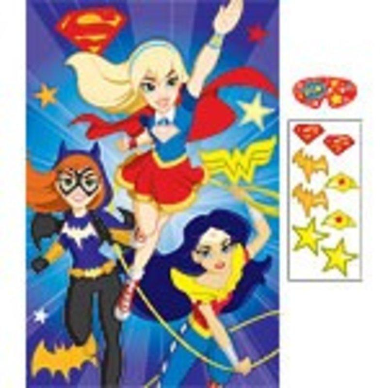 DC Super Hero Girls  feestspel
