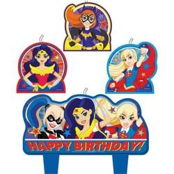 DC Super Hero Girls kaarsen
