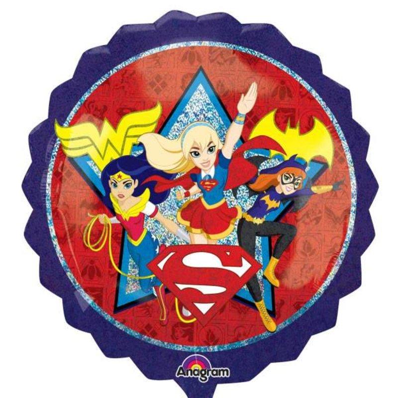 DC Super Hero Girls folie ballon