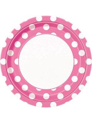 Roze stip borden groot