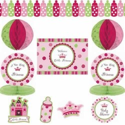 baby shower decoratie kit meisje
