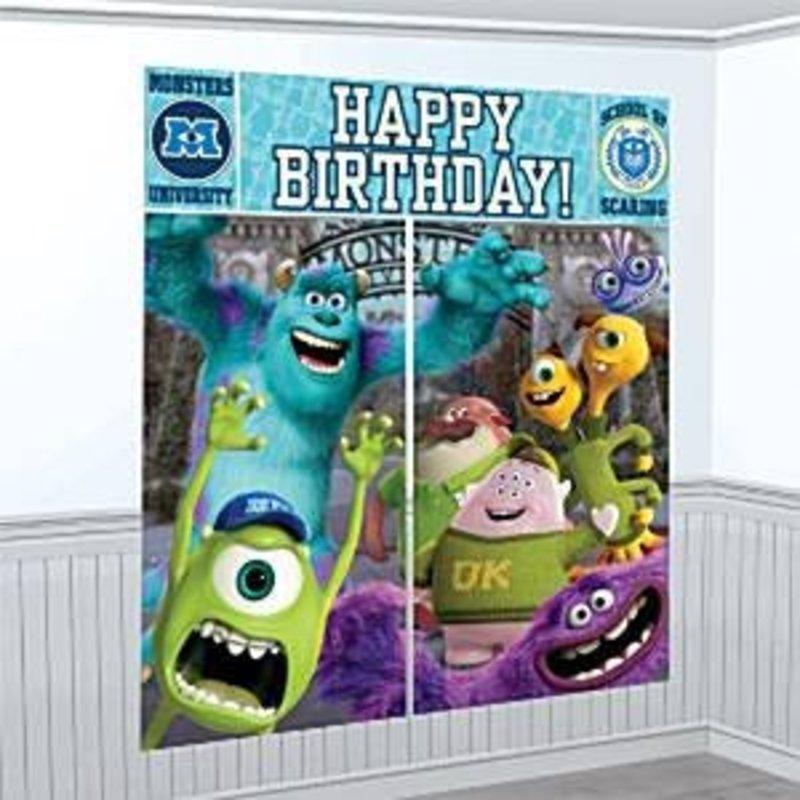 Monsters University 5 delige poster