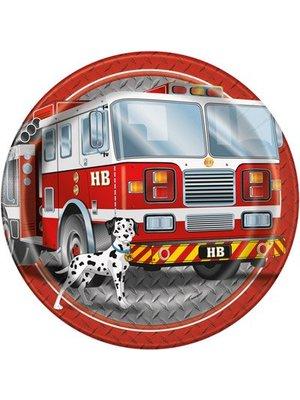 Brandweerfeestje grote borden