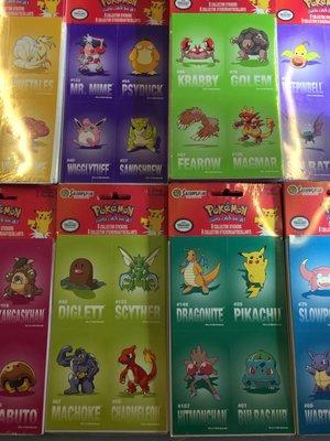 Set van 6x = 12 vellen.  Pokemon stickers voor traktatie / uideelcadeautjes