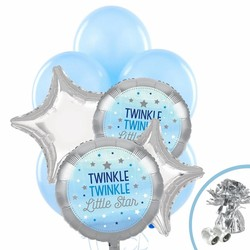 Twinkle Twinkle Little Star bleu balloon pakket