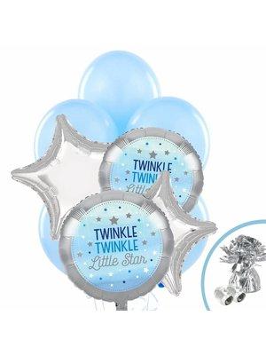 Twinkle Twinkle Little Star bleu balloon pakket