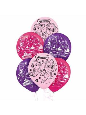Paw Patrol latex ballonnen voor meisje