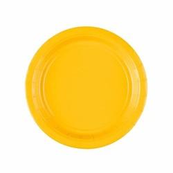 Gebaksbordjes geel
