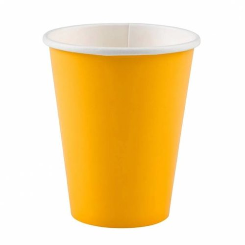 bekers, geel