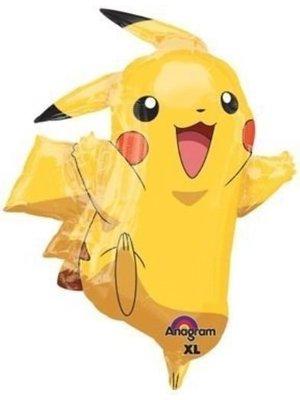 Pokemon folie ballon pikachu (groot)