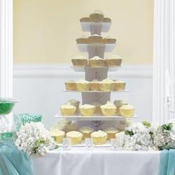 Cupcake houder voor een bruiloft