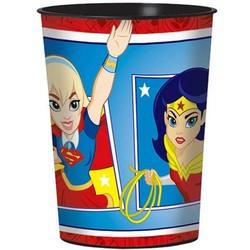 DC Super Hero Girls 1 plastic trakatie beker