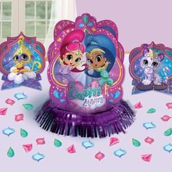 Shimmer en Shine feestartikelen decoratie set