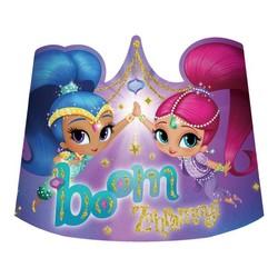 Shimmer & Shine feestartikelen kartonnen feesthoedjes