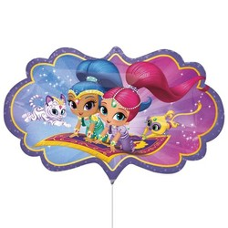 Shimmer & Shine ballon XXL
