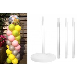 Ballonnen pilaar set, doe het zelf pakket
