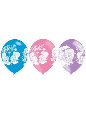 Shimmer & Shine latex ballonnen