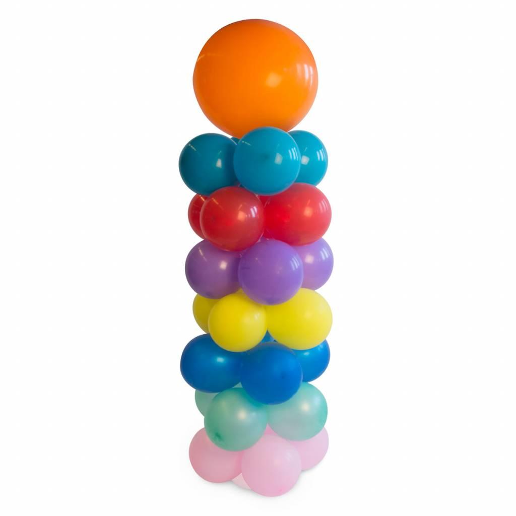 Ballonnen pilaar set doe het zelf set voor een ballonnen for Ballonnen versiering zelf maken