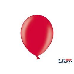 Premium ballonnen 30cm in mat, metallic en cristal. rood