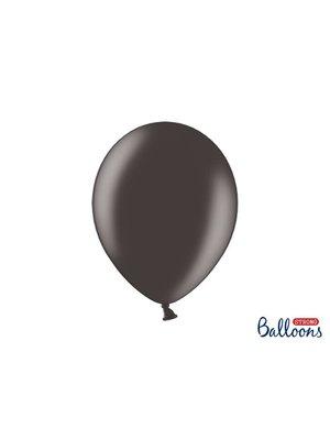 Premium ballonnen 30cm in mat, metallic en cristal. zwart