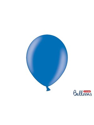 Premium ballonnen 30cm in mat, metallic en cristal. donker blauw