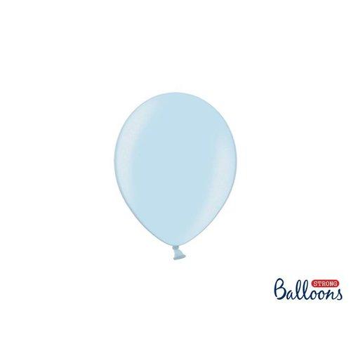 (mini) Premium ballonnen in mat, metallic en cristal. licht blauw