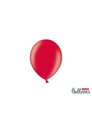 (mini) Premium ballonnen in mat, metallic en cristal. rood