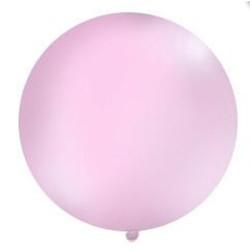 Mega top ballon 1m. ( 1 stuks) licht roze