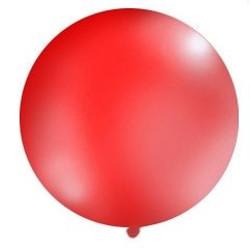 Mega top ballon 1m. ( 1 stuks) rood