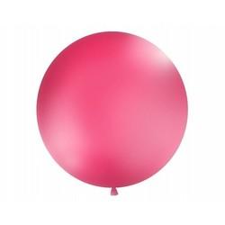 Mega top ballon 1m. ( 1 stuks) hard roze