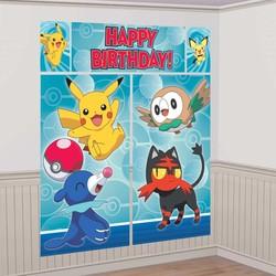 pokemon feestartikelen maga posters 5 delig (n)