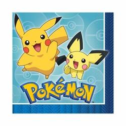 pokemon feestartikelen servetten (n)