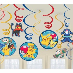 pokemon feestartikelen hangdecoratie / pokemon hang slingers (n)