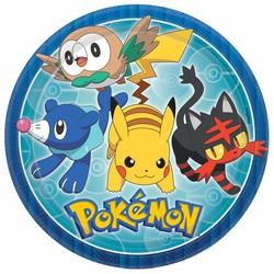 pokemon feestartikelen borden (groot) (n)