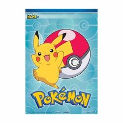 pokemon feestartikelen uitdeelzakjes (N)