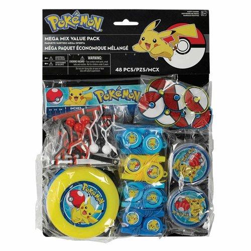 pokemon feestartikelen uitdeelcadeautjes 48 st. (N)