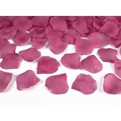 rozenblaadjes knal roze