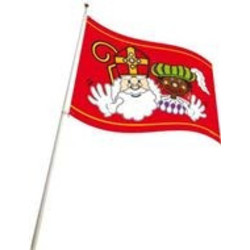 Vlag Sint en Piet (kan ook als gevel vlag)