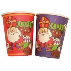 Sint en Piet bekers 8x