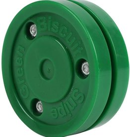 Blue Sports Green Biscuit Snipe Puck
