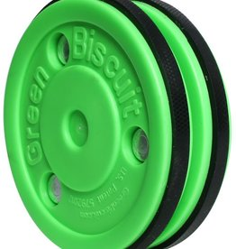 Blue Sports Green Biscuit Pro Saucer Puck