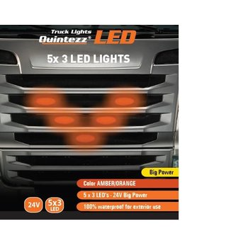 Quintezz Plate lights - oranje