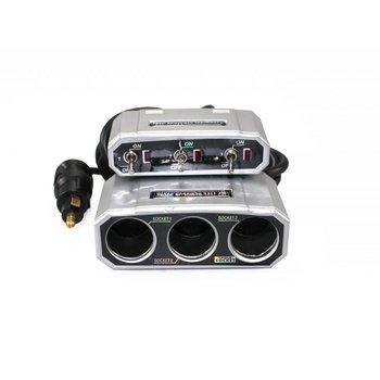 3-fach Steckdose mit Schalter NEW PLUG