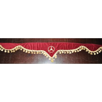 Raamband punt Mercedes 2.35m