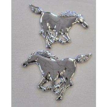 Chromdekoration Pferd