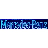 Led plate Mercedes different colors