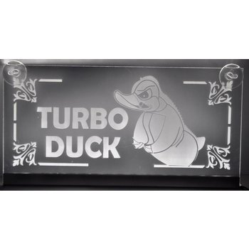 LED plaat Turbo Duck