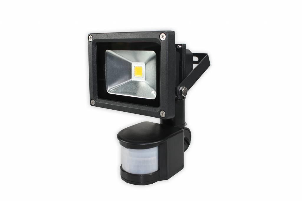 Licht En Bewegingssensor : Quintezz led sensor floodlight 10w joostshop