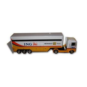Formule 1 Renault truck