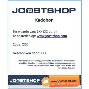 Cadeaubon website (vanaf €10)